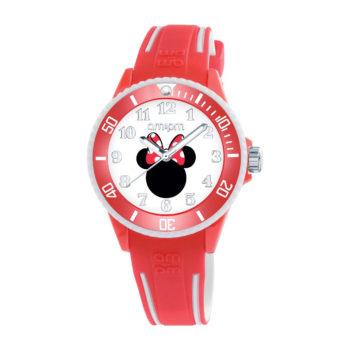 AM:PM Disney Minnie Red Rubber Strap Kids' Watch DP187-U472