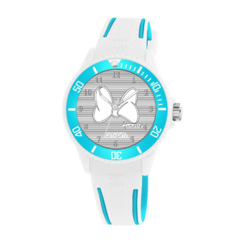 AM:PM Disney White Rubber Strap Kids' Watch DP187-U612