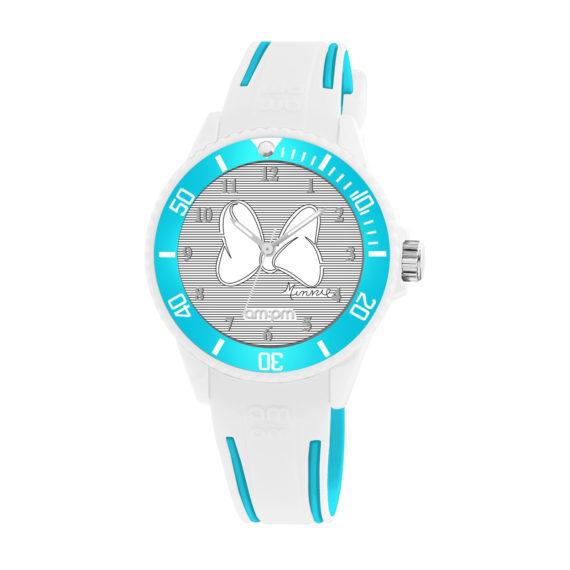 AM PM Disney White Rubber Strap Kids' Watch DP187 U612