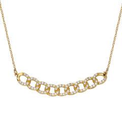 Κρεμαστό-Αλυσίδα Χρυσό Με Ζιργκόν 14Κ