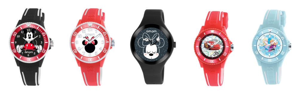 Παιδικά Ρολόγια Disney AM PM Jewelor