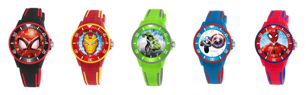 Παιδικά Ρολόγια Marvel AM PM Jewelor