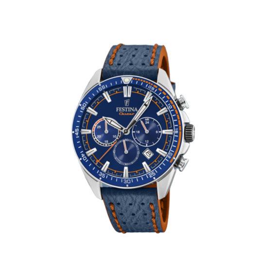 Festina Sports Silver Blue Men's Watch F20377 2 Jewelor
