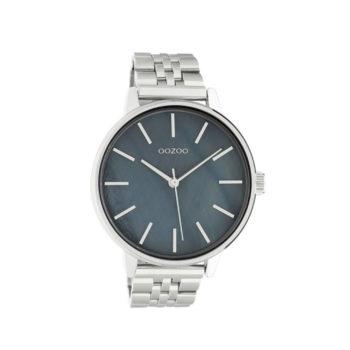 OOZOO Silver Unisex Watch C10623