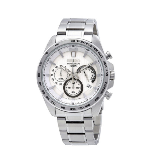 Seiko Chrono Silver Men's Watch SSB297P1 Jewelor