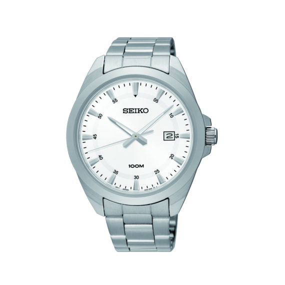 Seiko Classic Silver Men's Watch SUR205P1 Jewelor