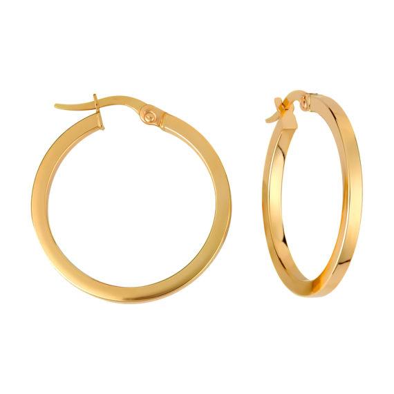 Σκουλαρίκια Κρίκοι Μικρά Χρυσά 003221 Jewelor