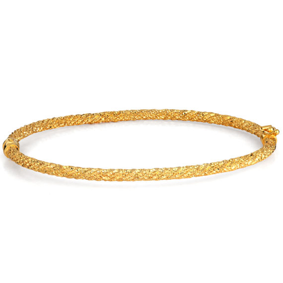 Βραχιόλι Σφυρήλατο Χρυσό 003222 Jewelor