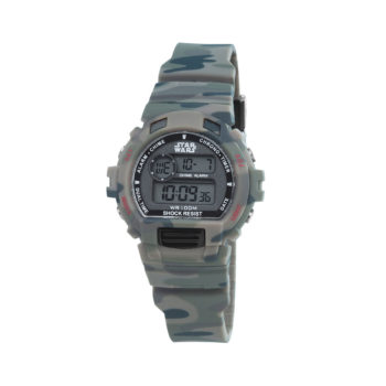 AM:PM Camouflage Rubber Strap Kids' Watch SP181-U438
