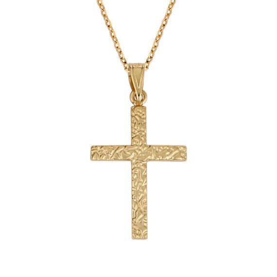 Σταυρός Ζαγρέ Χρυσός 003271 Jewelor