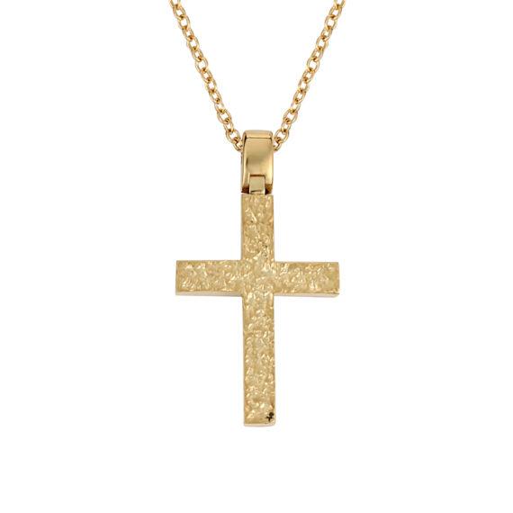 Ζαγρέ Σταυρός Χρυσός 003228 Jewelor