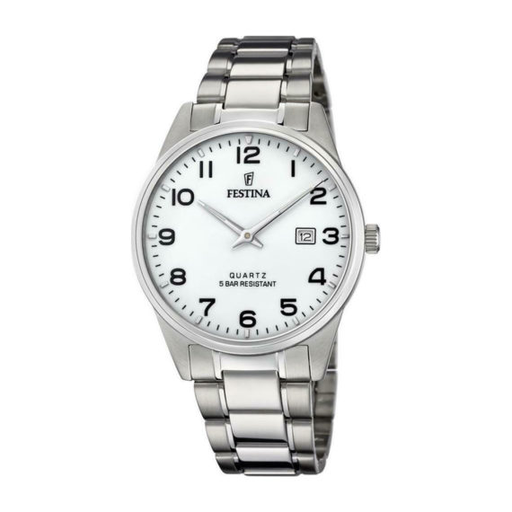 Festina Stainless Steel Bracelet Men's Watch F20511 1 Radio Nowhere
