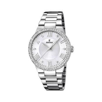 Festina Crystals Stainless Steel Bracelet Women's Watch F16719/1