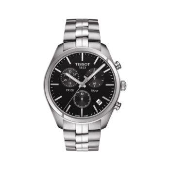 Tissot T-Classic PR 100 Chronograph Silver Men's Watch Τ101.210.11.036.00