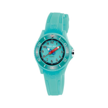 AM:PM Ciel Blue Rubber Strap Kids' Watch PM192-K515