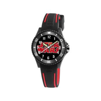 AM:PM Star Wars Black Rubber Strap Kids' Watch SP190-K487