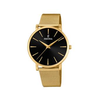 Festina Classic Slim Gold Bracelet Women's Watch F20476/2