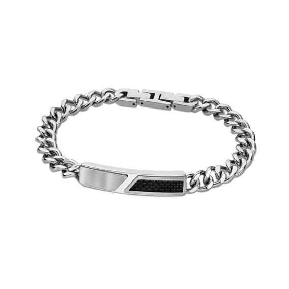 Βραχιόλι Αλυσίδα Lotus Style Δίχρωμο Ατσάλι LS2058 2 1 Jewelor