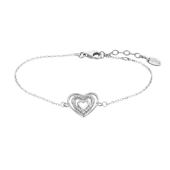 Βραχιόλι Lotus Style Moments Ασήμι Ζιργκόν LP3143 2 1 Jewelor