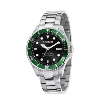 Sector 2030 Green-Black Men's Watch R3253161041