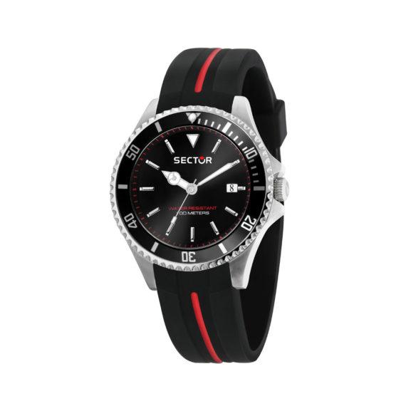 Sector 230 Black Red Men's Watch R3251161038 Jewelor