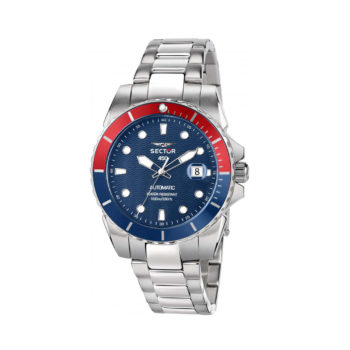 Sector 450 Blue-Red Automatic Men's Watch R3223276001