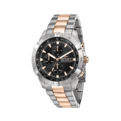 Sector Adv2500 Silver & Rose Gold Chronograph Men's Watch R3273643002