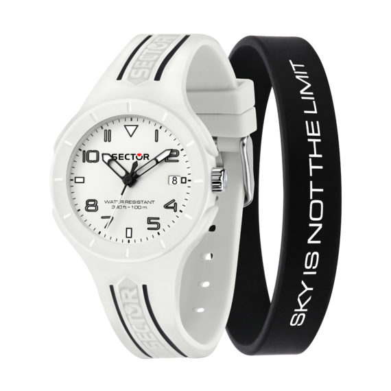 Sector Speed White Men's Watch R3251514024 Jewelor