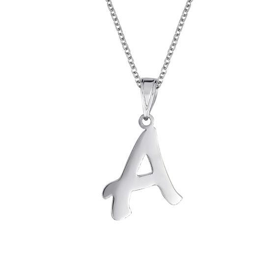 Κρεμαστό Άλφα Λευκόχρυσο 14Κ 003454 Jewelor
