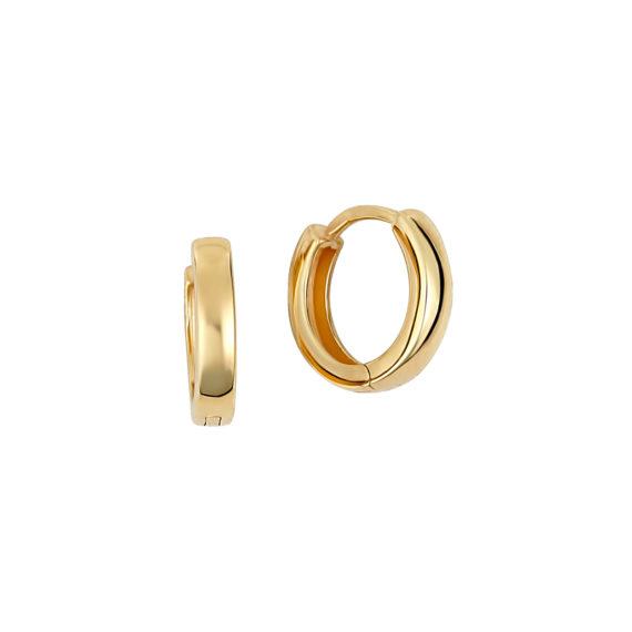 Σκουλαρίκια Κρικάκια Χρυσά 14Κ 003407 Jewelor