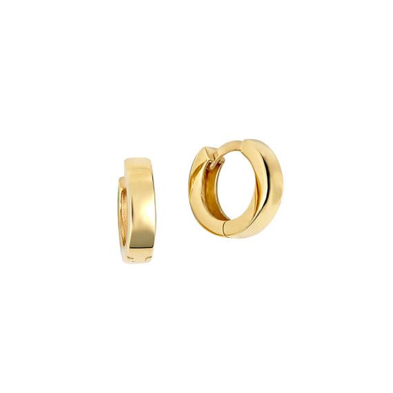 Σκουλαρίκια Κρικάκια Χρυσά 14Κ 003415 Jewelor